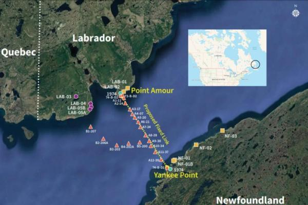 Newfoundland - Labrador Fixed Link Project in Canada