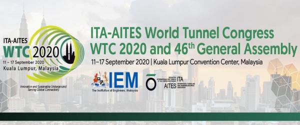 World Tunnel Congress 2020 Kuala Lumpur, Malaysia