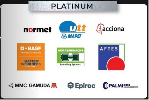 World Tunnel Congress 2020 Platinum Sponsors