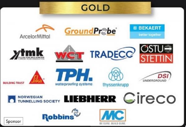 World Tunnel Congress 2020 Gold Sponsors