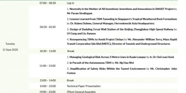 WTC2020 Programme Outline