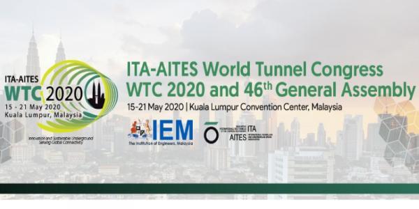 ITA-AITES World Tunnel Congress 2020 Kuala Lumpur Malaysia
